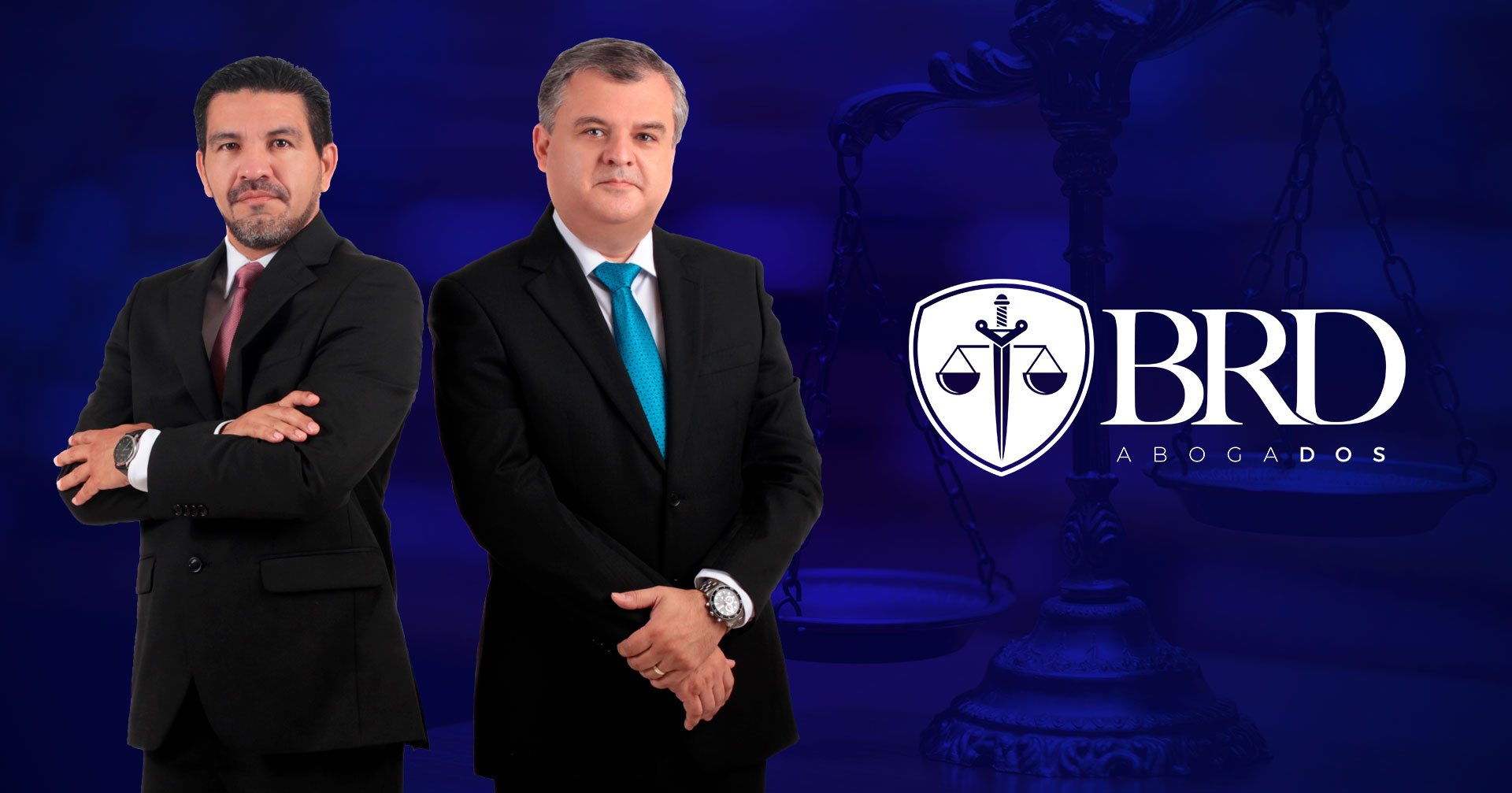 Lic. Alfonso Ruiz y Lic. Alberto Delgado
